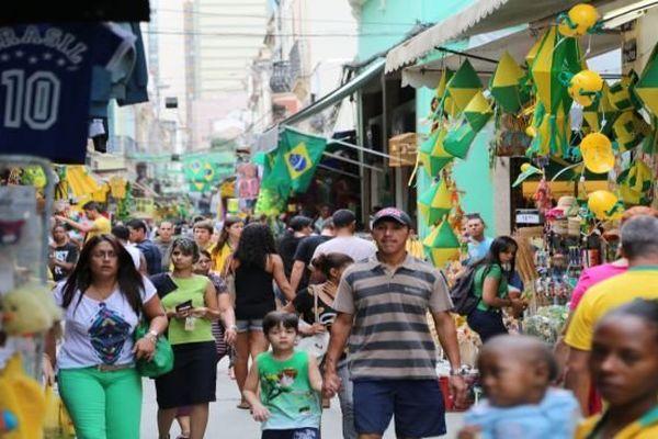 Brésil jaune et vert