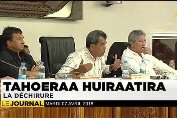 Tahoeraa Huiraatira : La déchirure