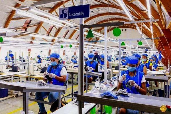 Fabrication des masques en tissus