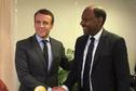 Emmanuel Macron rencontre Thierry Robert au siège parisien d'En Marche