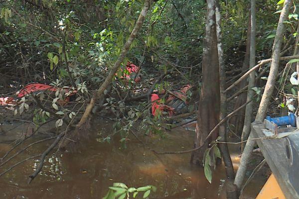 Circuit des clandestins à Iracoubo