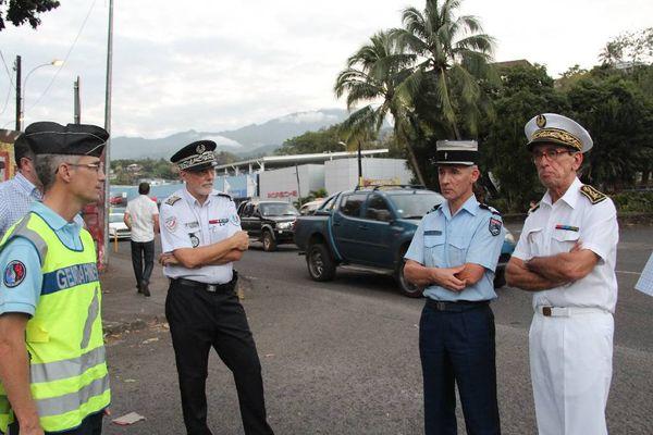 Contrôles routiers à Papeete