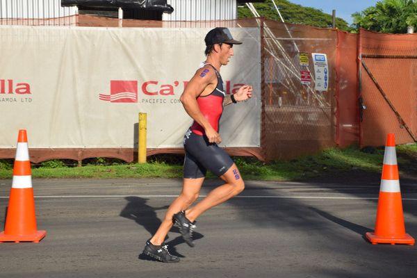 Samoa 2019, Benjamin Rivière, aquathlon