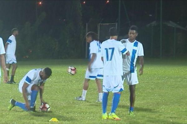 L'équipe de Martinique