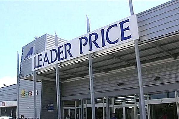 Façade magasin Leader Price