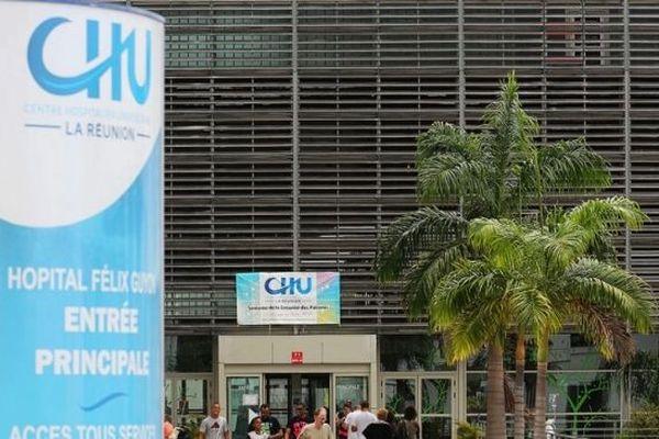 Le Centre Hospitalier Universitaire de La Réunion, à Saint-Denis.