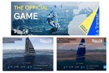 Duel sur l'océan virtuel entre Gildas Morvan à gauche et Armel Le Cléac'h à droite