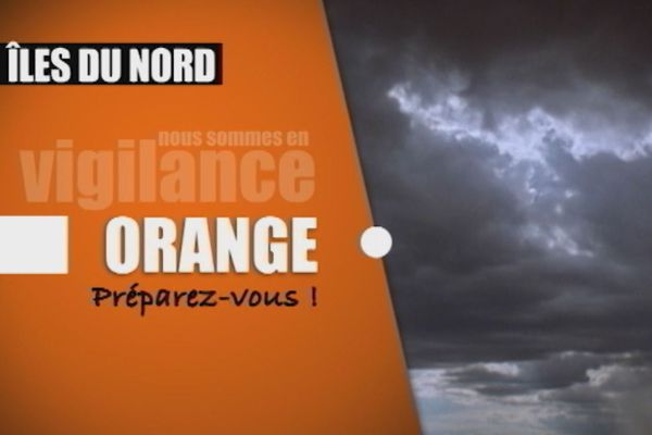 Vigilance orange Iles du nord