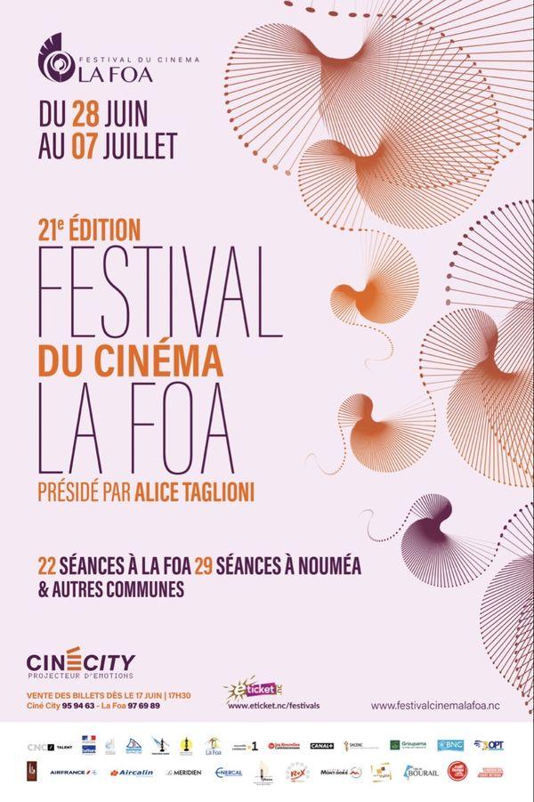 Affiche festival de la Foa 2019