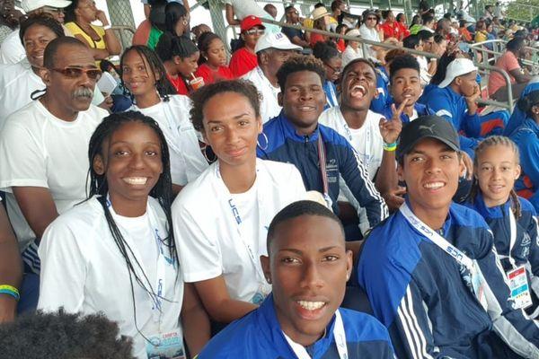 delegation carifta athlétisme