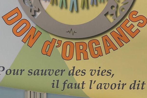Affiche sur le don d'organe