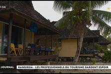 TOURISME A RANGIROA : l'hotel Kia Ora a fermé, pas les pensions