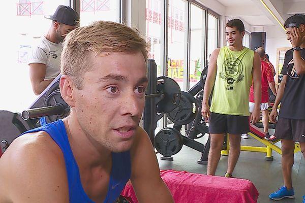 Benjamin Zorgnotti, un triathlète qui a de l'ambition