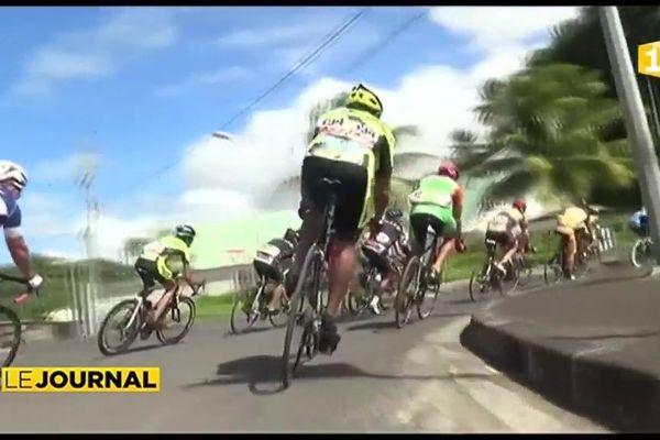 Cyclisme : le podium pour T.Teuira au Tour Hava'i