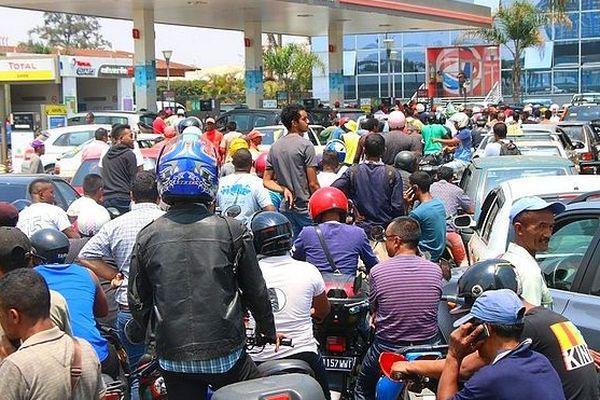 Pénurie d'essence à Mada