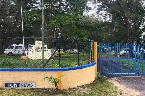 Centre de vacances de l'île Maurice devenu zone de quarantaine