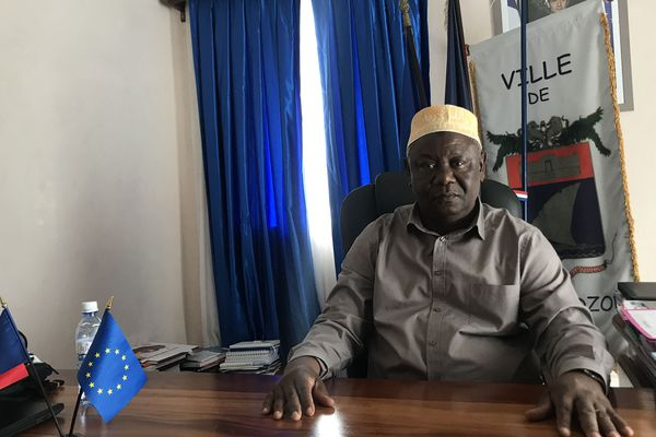 Mohamed Majani, maire de Mamoudzou