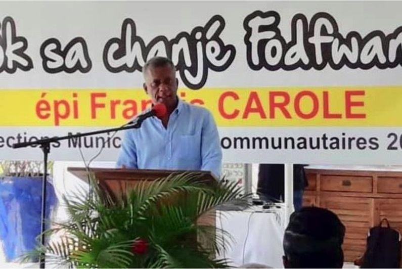 Municipales 2020 en Martinique : Francis Carole de nouveau candidat à Fort-de-France