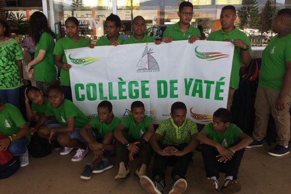 Collégiens de Yaté en route pour Dubaï