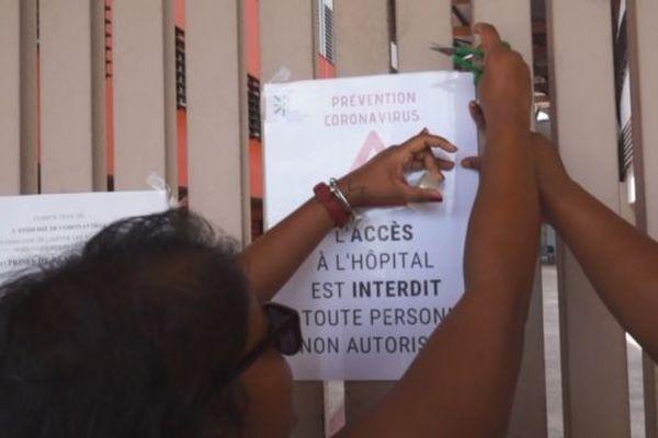 Interdiction visites CHAR