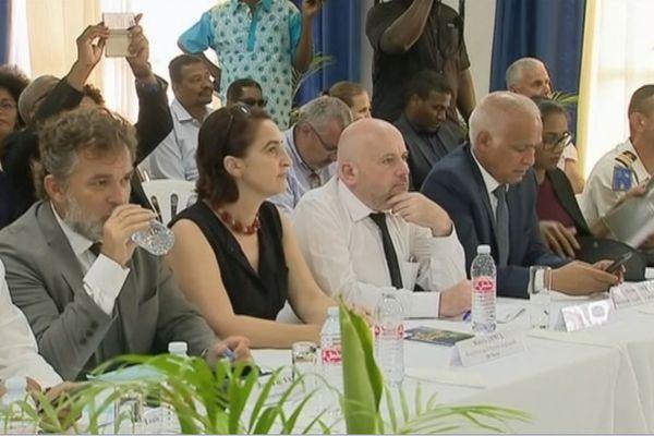 Réunion ministres élus à Petit Bourg 2
