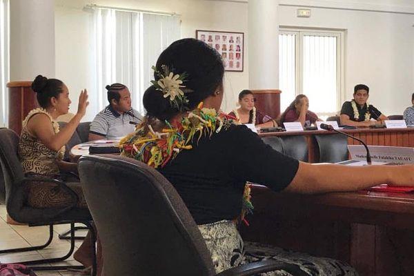 L'assemblée territoriale des jeunes de Wallis et Futuna