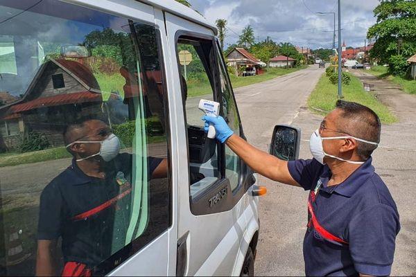 Contrôle sanitaire à Iracoubo