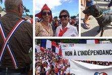 Marche pour la France à Nouméa, le 4 mai 2018.