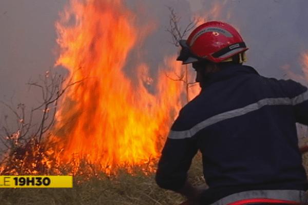 Fin de la saison des feux de brousse