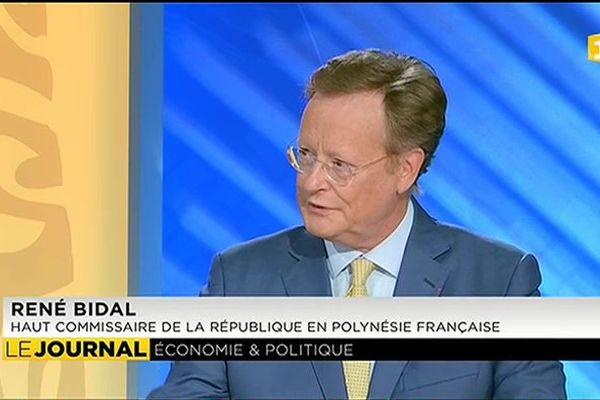 René Bidal commente les actions de l'Etat