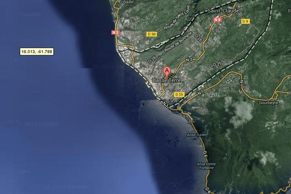 Basse-Terre : maps