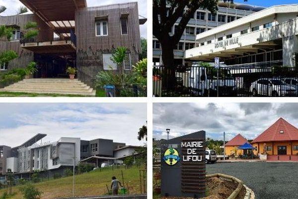 Communes. Mairies