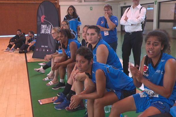 Match de l'AS 6e filles en finalités 3 de baske, 8 juin 2019