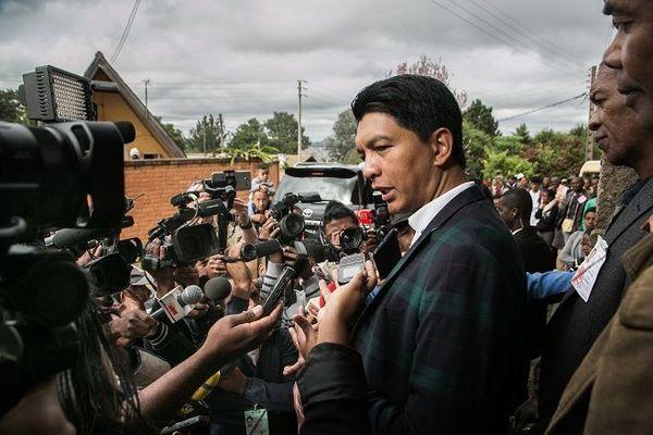 Le president Andry Rajoelina