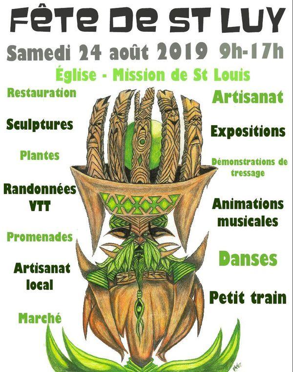Affiche portes ouvertes de Saint-Louis 2019