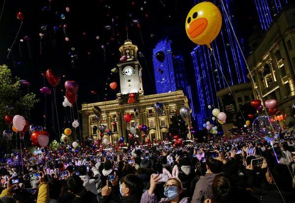 Nouvel An à Wuhan