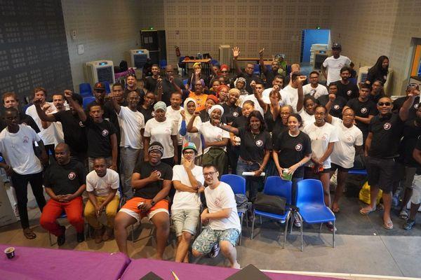 Les participants aux finales WebCup OI 2018 et 2019