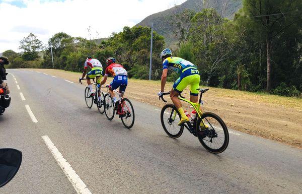 Tour cycliste 2019, trio de tête dans la huitième étape