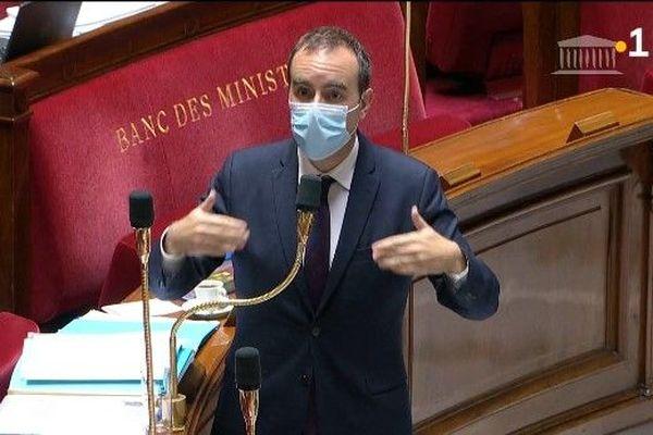 Sébastien Lecornu, Ministre des Outre-mer, devant l'Assemblée Nationale - 04.11.2020