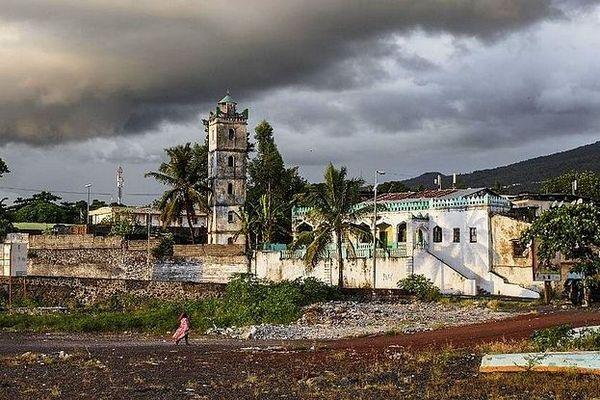 Comores, mosquée de Moroni
