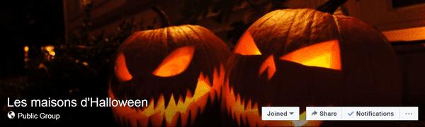 Les Maison d'Halloween