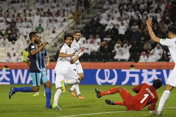 Le but du 2-0 signé Afif est refusé par la VAR