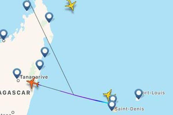 Fakir, avion air france va à Madagascar