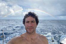 Clément espère atteindre son but des 100 jours en mer