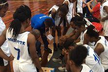 Basketball féminin Mayotte Seychelles Début de la rencontre 1/4 temps