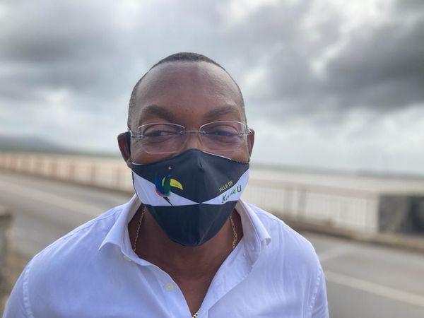 François Ringuet, président de l'association des maires de Guyane