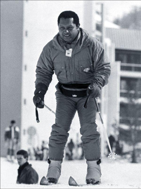 Duvalier au Ski 1987