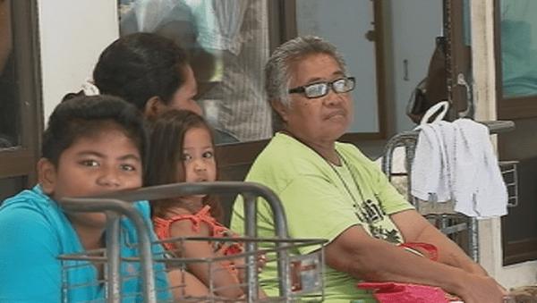 passagers en souffrance pour Futuna
