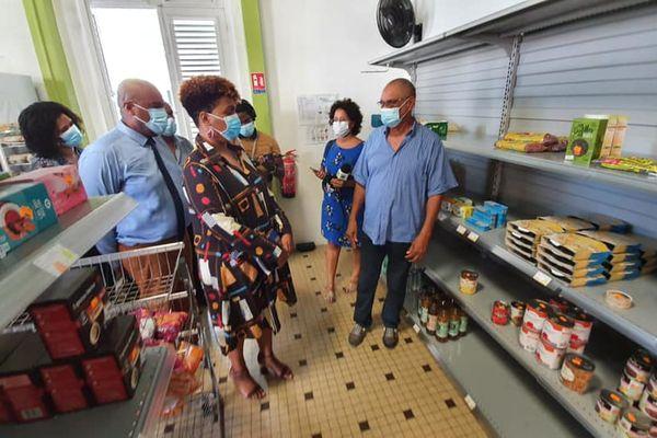 Visite épicerie solidaire Trinité