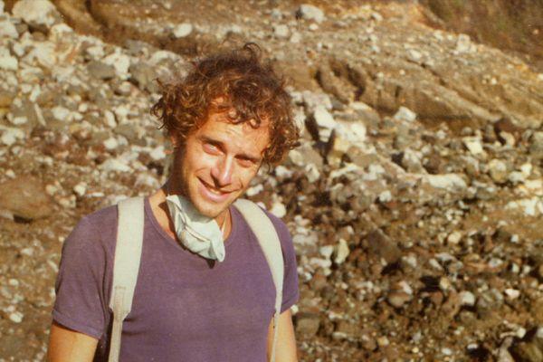 Patrick Allard jeune vulcanologue - vos photos notre histoire Guadeloupe